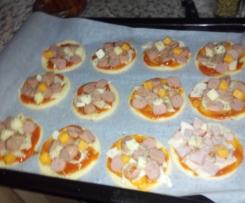 Masa de pizza crujiente