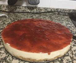Tarta de queso sin nata