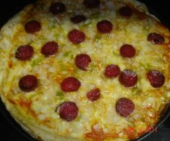 PIZZA BOMBA DE QUESO