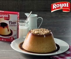 Flan de Avellanas Royal®