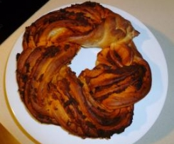 Kringle Estonia de sobrasada y miel