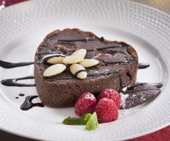 Pastel de Chocolate para dos