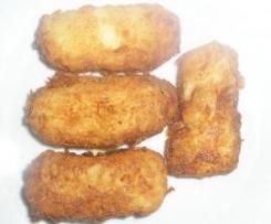 Croquetas de panga.