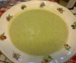 Crema de Brócoli y Calabacín